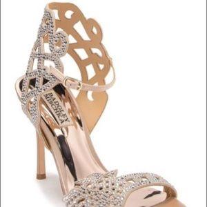 Badgley Mischka Amery Embellished Heels